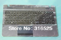 Genuine NEW Russian RU Layout  For Samsung NP300E5E 300E5E BA59-03270A 9Z.N4NSN.00R  Keyboard with  Plamrest  Touchpad  Keyboard