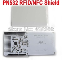 RFID NFC PN532 Shield IC Card Expansion Boards for Arduino  with White Card FZ0089