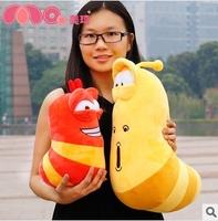 Plush toys Korea hilarious bugs larva 2pcs/lot 30cm~40cm
