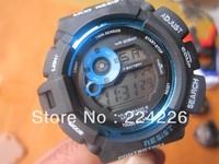 lowest price with free shipping *black+blue* GW9300 sport watch gw 9300 Brand New fashion latest watch ,best quality