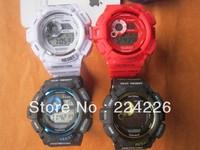 lowest price Mix colour 5pcs GW9300 sport watch gw 9300 Brand New fashion latest watch ,best quality