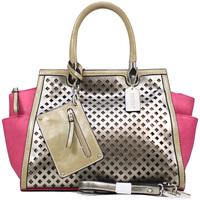 Designer Inspired High Quality Women Leather Handbags Handbags Women Two-tone Fashion Shoulder Bag w/ Bonus Strap Coin Pouch