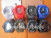lowest price Mix colour 25pcs GW9300 sport watch gw 9300 Brand New fashion latest watch ,best quality
