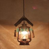 Antique lantern vintage pendant light kerosene lamp personalized chinese style lamp fashion pendant light aisle lights entrance