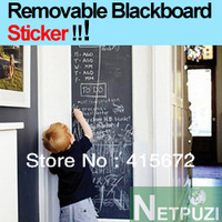Chalkboard home decoration Wall Stickers Removable Blackboard Decals WIDELY USED EXPECIALLY FOR KIDS ROOM 45CMx200CM