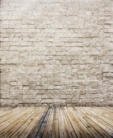 5X7ft Brick Wall Wooden Floor Backgrounds For Photo Studio Vinyl Backdrop Muslin Photography Background