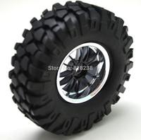 "RB-1007 4Pack RC Axial SCX10 RC4WD Tamiya Rock crawler 1.9""  Aluminum Wheels/ 96mm Tires"