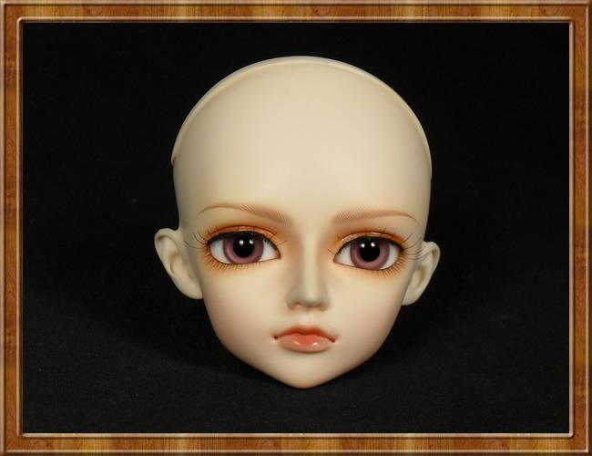 Trucco pratica testa bambole bjd