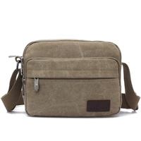 Men casual canvas messenger bags man outdoor travel shoulder handbags