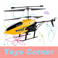 FreeShipping New Product & WholeSale KOOME(K036)  3.5CH Infraned Alloy RC Helicopter with GYRO