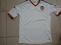 new Free shipping valencia cf home soccer jerseys valencia cf white football jerseys top thailand 3A+++ quality T Shirt
