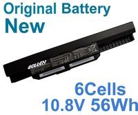 Original Battery For ASUS K53S K53SJ K53SK K53T K53U X43SJ A53SC A53SK A53SV A43S A32-K53 K43S K43SA 6Cells 56WH