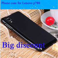 100% High Quality Slim Transparant Soft TPU Gel Skin Case  Protective Case Phone Cases Phone Bags For Lenovo P780 Free Shipping