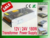 High Quality 180W Switch Power Supply units transformer Drive AC110V or 220V input 15A 12v or 24v output