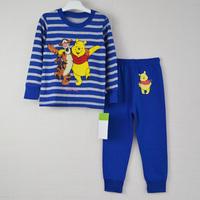 new 2014 1piece Retail 100% cotton Sizes: 2T - 3T - 4T - 5T - 6T - 7T pijamas kids pajamas kids baby pajamas children's pajamas