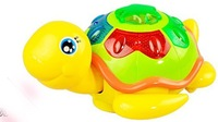Free shipping Colorful little turtle. Electric. Lighting. Music Children's educational toys. Baby toys