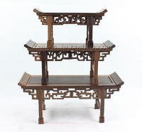 Miniature furniture mahogany model miniature furniture wenge console table 3 measurement