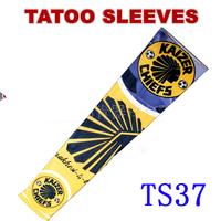 Nylon Stretchy Roch UV Football Tattoo Sleeve Arm Stockings Punk Free Shipping