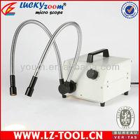 Free shipping ! 150W Dual Goose-neck Fiber Optic Illuminator