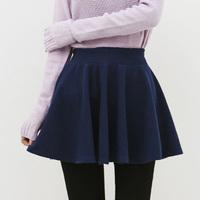 Pleated skirt slim hip bust skirt black basic winter  short skirt female 2014 puff skirt, free shipping