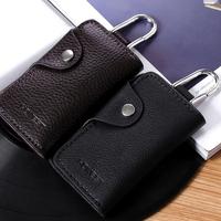 Dual : car key palcent 105 female car key wallet male genuine leather quality multifunctional