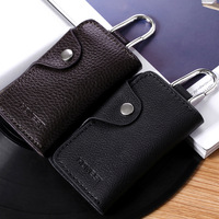 Dual : car key palcent 105 female car key wallet male genuine leather quality multifunctional