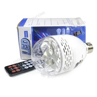 Distinctive LED RGB Stage Lighting Light Speaker Support TF Card / USB / FM Full Color with Remote Control