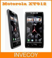 "XT912 Motorola DROID RAZR Original Unlocked XT912 / XT912 MAXX Mobile Phone Android Dual Core 8GB 4.3"" 8.0MP freeshipping"