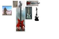 Custom Shop BC Rich Tom Araya Wave bass Electric Guitar By Spring - reverse headstock