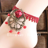 Hand for accessories lace anklet female fashion crystal exquisite fashion accessories lace female jewelry