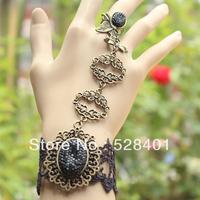 Lace bracelet female belt ring vintage fashion gothic accessories