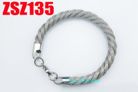 stainless steel bracelets 7mm Circular woven mesh Hand catenary fashion Jewelry man male virility chains ZSZ135