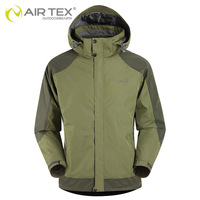 men's twinset Autumn and winter siait hot-selling airtex outdoor waterproof breathable thermaloutdoor jacket