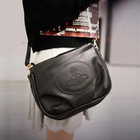 Vivi messenger bag all-match PU women's pleated shoulder bag handbag