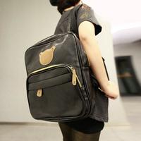 women backpack  printing backpack  backpacks Popular bear backpack multicolor casual school bag female general student bag