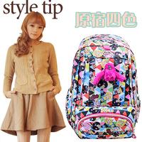 Doll backpack women's handbag travel bag student school bag HARAJUKU backpack bags