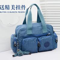 Water wash bag men nylon women's handbag dual messenger bag shoulder bag nappy bag