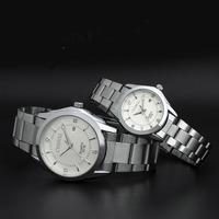 EU style big face wristwatch brand quartz watch mens/couple watch
