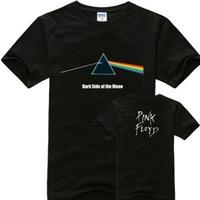 Free Shipping Most Discount Classic Pink Floyd Cartoon Animals Print T Shirt Men Women Cotton Short sleeve Fashion Black Tee