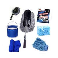 Car wash 7 piece set wax brush car wash supplies car wash set car wash toiletry kit auto supplies