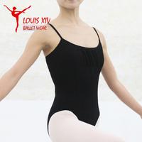 Classical black ballet dance practice leotards women gymnastics leotard free shipping