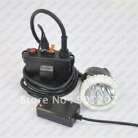 Led Headlamp 3W high-power CREE Leds 30000lx with 6.6Ah Rated Capacity For Miner Mining ,Camping ,Fishing