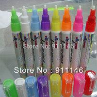 Brand Goodplus 8pcs/set 3mm Highlighter Fluorescent Liquid Chalk Marker Pen for LED Writing fluorescent Board pen