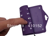 free shipping calculator,flexible calculator,portable calculator gift with megnet on back