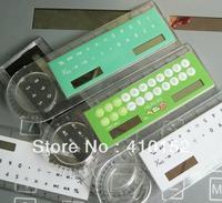 free shipping calculator, ruler calculator with magnify function, magnifier ruler calculator 3 in 1