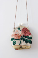 Free shipping original design handmade small vintage zakka gold shoulder bag