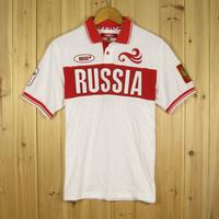 BOSCO sport shirt for Men/Women short sleeve polo shirts Russian olympic team uniform cotton high quality 2014 new autumn XS-4XL