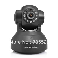 GEEYA C802 P2P Night Vision Wireless IP Camera with Pan/Tilt /Zoom and two way audio, Andriod or iOS remote surveillance support