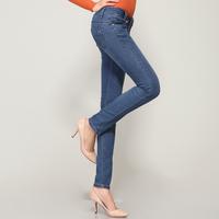 free shipping Women's jeans pencil pants female cotton elastic women's denim trousers
