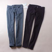 Fashion women's mid waist wash water slim skinny pencil pants jeans b-01